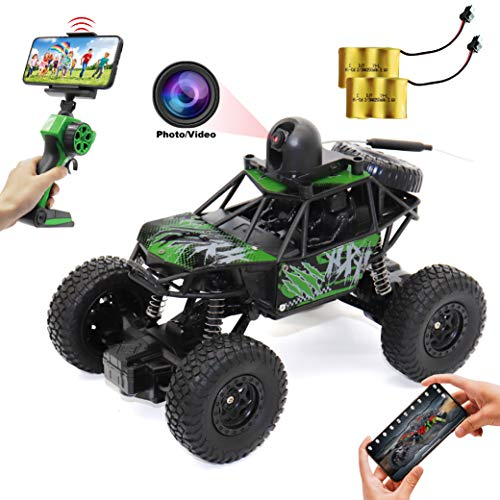 Small RC Car with Camera 720P HD FPV, 1:22 Spy Remote Control Car with Camera, Remote Control Car for Kids and Teens with Camera, RC Spy Car Gift for Kids