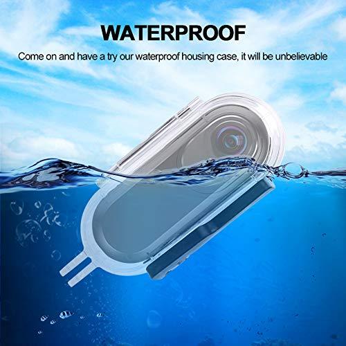 Acouto Insta 360One 45m Carcasa Resistente al Agua para Insta 360panorámico de cámara
