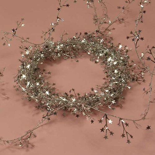 Silver Small Star Garland