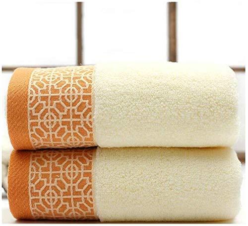 KEKEYANG Toallas de baño modernas 74 x 33 cm, 100 toallas de baño de secado rápido para las toallas de playa 2 piezas de baño