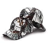 WEMAO Colores Deportes Unisex Camping Camuflaje Cap Browning Béisbol Caza Gorros de Pesca Selva Táctico Senderismo Camo Hats-MO5