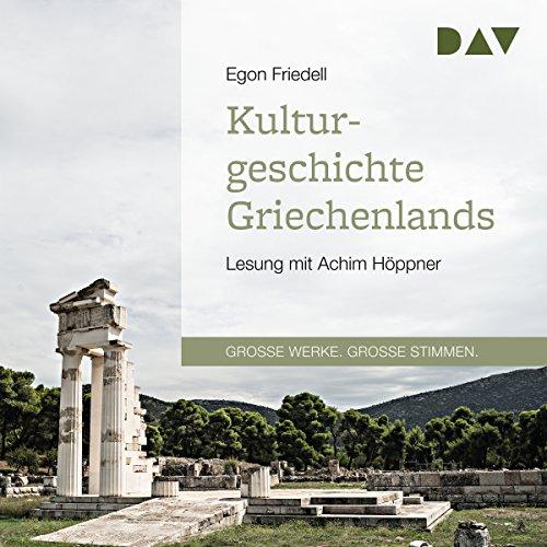Kulturgeschichte Griechenlands audiobook cover art