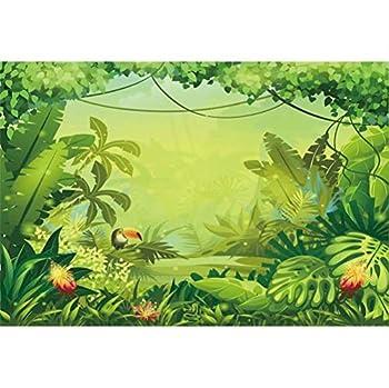 tropical rainforest cartoon