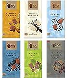 Ichoc Vegan Organic German Chocolate Bars Mixed Case Selection (Pack of 6)