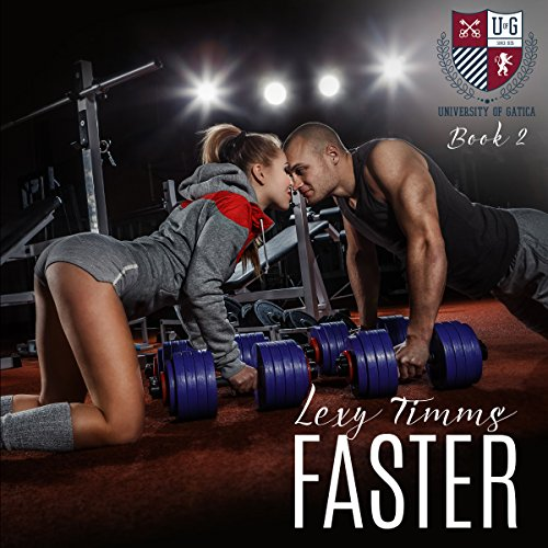 Faster audiobook cover art
