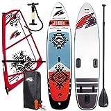 F2 Joker Windsurf - Set de surf hinchable (11,6'), 1,5 QM