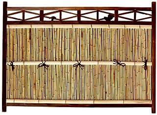 竹垣 目隠し フェンス 横型 幅5.5尺 W165×H120cm