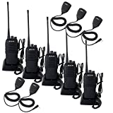 Retevis RT1 Two Way Radios Long Range Rechargeable, High Power 2 Way Radio,Rugged Adults W...