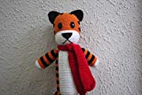 Handmade Hobbes Calvin and Hobbes 20'' Crochet Hobbes Hobbes Tiger Plushie Tiger Handmade Hobbes Stuffed Tiger