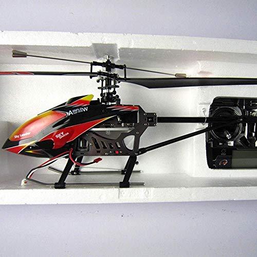 YQTXDS Gran Nueva versión de 3,5 Canales Gyro Incorporado Interior al Aire Libre helicóptero Radio Control Remoto Aviones (Juguetes RC)