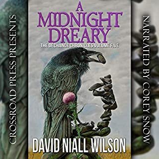 A Midnight Dreary: The DeChance Chronicles, Volume Five                   By:                                                                                                                                 David Niall Wilson                               Narrated by:                                                                                                                                 Corey M. Snow                      Length: 7 hrs and 27 mins     Not rated yet     Overall 0.0