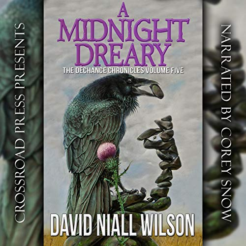 A Midnight Dreary: The DeChance Chronicles, Volume Five audiobook cover art