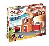 Teifoc Fire Station Playset, Terra Cotta