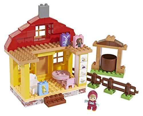 BIG 57096 - PlayBIG Bloxx Mascha, Bär Masha's Home Spielset