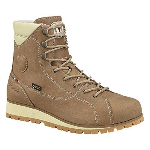 Dolomite Cinquantaquattro Hg City WS GTX Chaussures de loisirs pour femme - Marron - Ciottolo., 42.5 EU