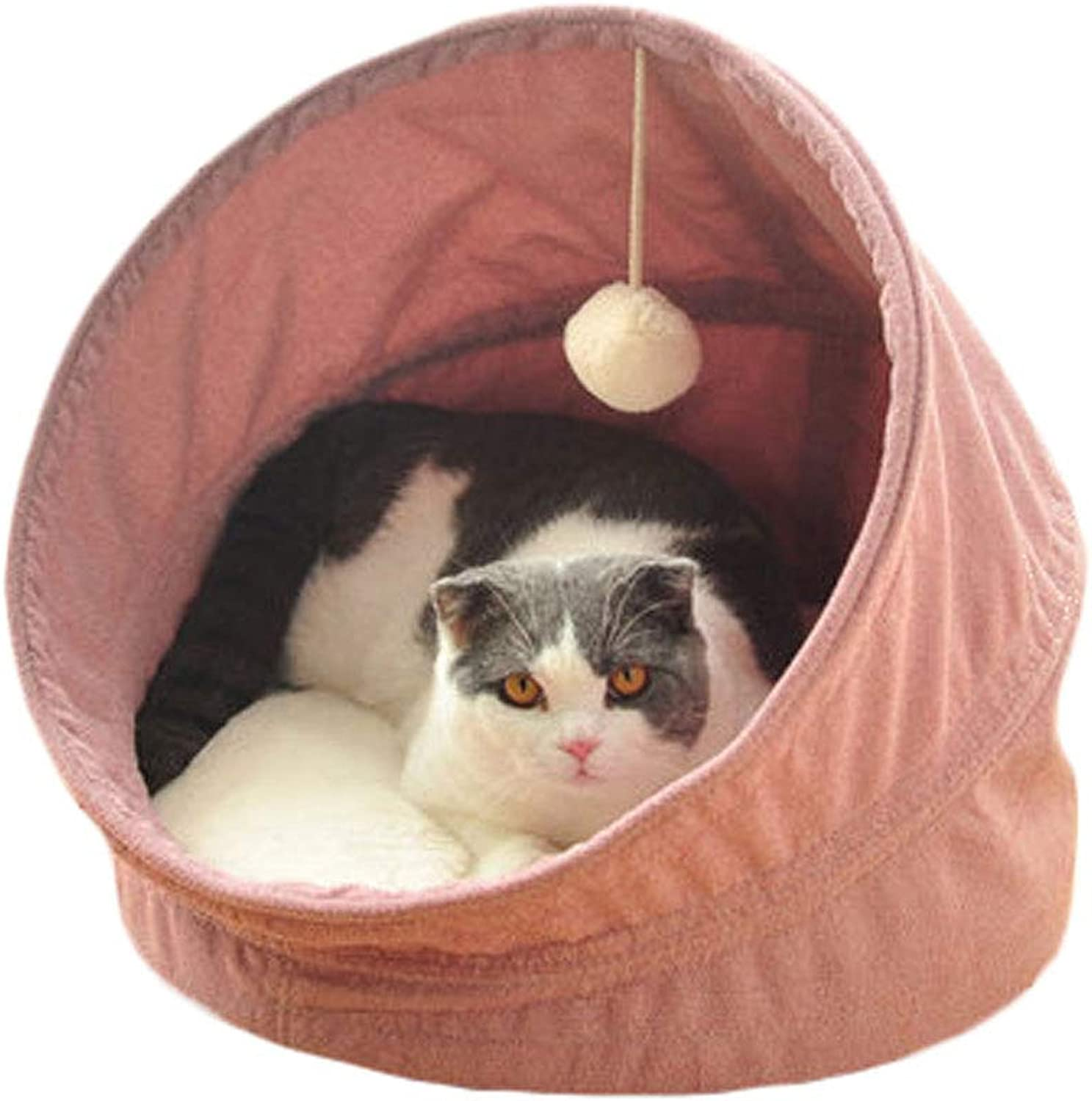 HJYCWW Cat Nest Four Seasons Universal Cat House Sleeping Bag Summer Cat Nest House Closed Cat Villa Cat House Small Dog Kennel