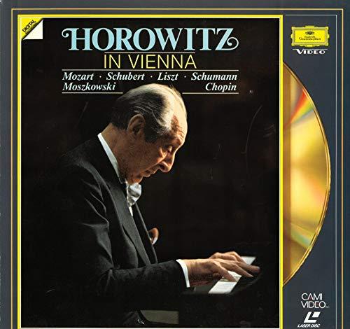 (LASER DISC) Mozart/Schubert/Liszt/Schumann/Moszkowski/Chopin - Horowitz in Vienna - Vladimir Horowitz (piano)