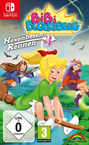 Bibi Blocksberg - Das große Hexenbesen Rennen 3 - Nintendo Switch