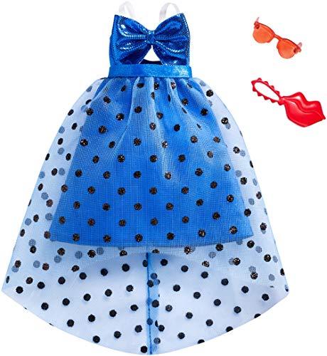 Mattel Barbie Moda Look Completo Azul