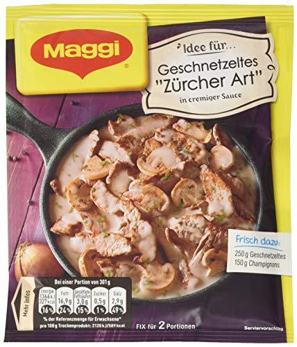 Maggi Fix und Frischgeschnetzeltes Züricher Art, 50 g
