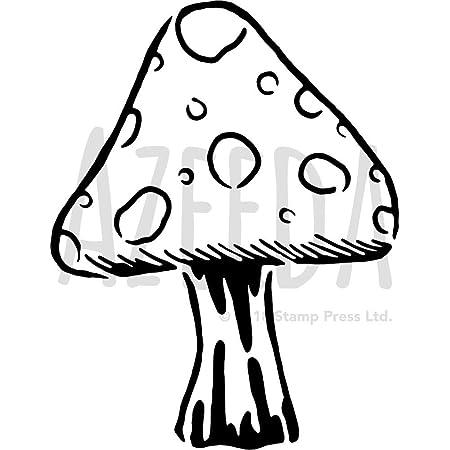Herbstbasteln Bastelvorlage Pilze 1