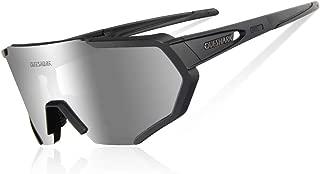 Gafas De Sol Polarizadas para Ciclismo con 3 Lentes Intercambiables UV400 MTB Bicicleta Montaña