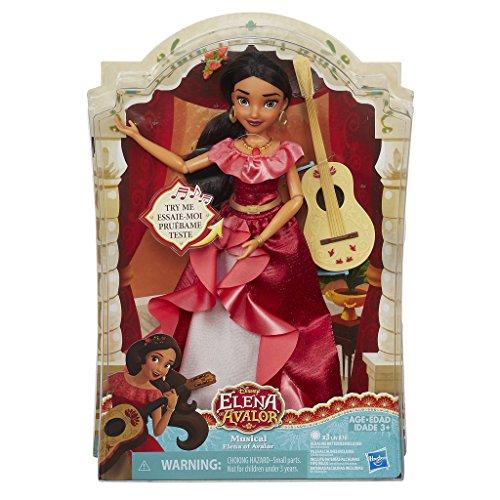 Disney Girls - Muñeca Elena de Avalor cantarina (Hasbro B7912105)