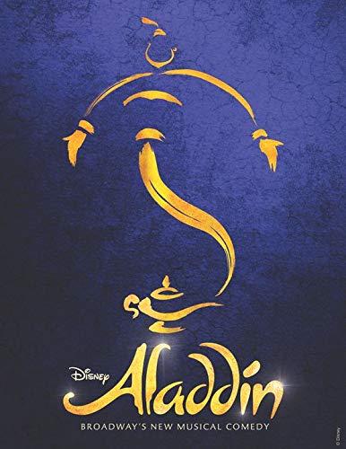 Aladdin – MU.Sical Broadway Tour Poster Print - 43cm x 61cm / 17 Inches x 24 Inches A2
