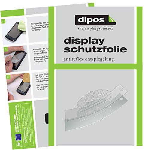 dipos I 2X Schutzfolie matt kompatibel mit Jura C50 Tropfblech Folie Bildschirmschutzfolie
