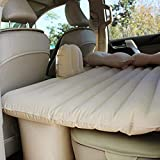 Zofey PVC Car Bed Inflatable Mattress with 2 Air Pillow
