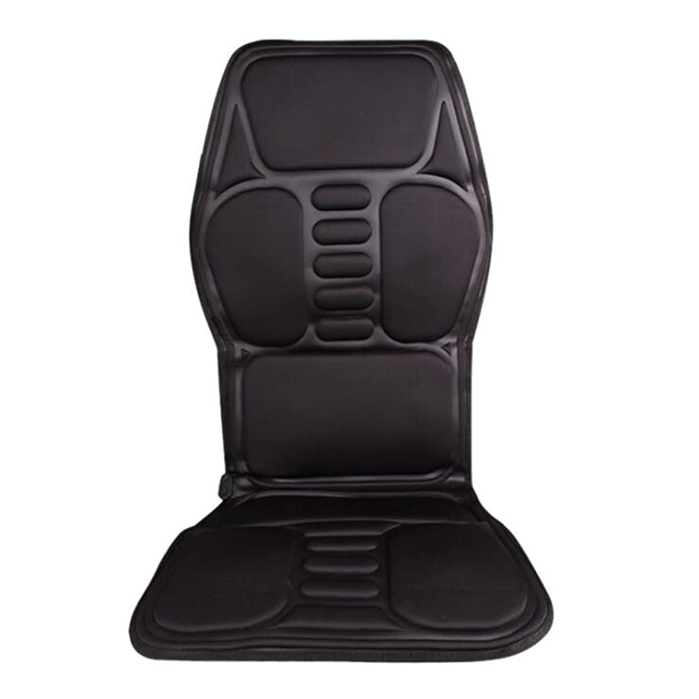 静けさ予知トマトXmony-72 シートマッサージャー ブラック カーシート 5機能5もみ玉付き オートオフタイマー内蔵 首/肩/背/腰/しり/太ももなどの全身のマッサージが可能 車用/自宅用/オフィス用 折り畳みが可能 持ち運び便利 リモコン付き ヒーター 理療 マットレス