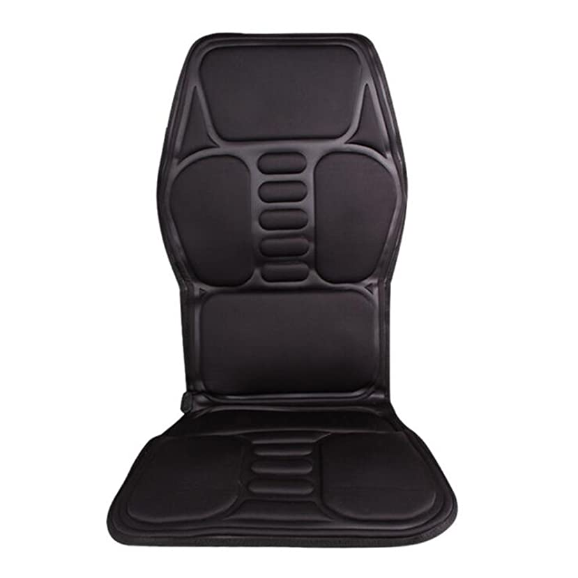 チャレンジシェフレパートリーXmony-72 シートマッサージャー ブラック カーシート 5機能5もみ玉付き オートオフタイマー内蔵 首/肩/背/腰/しり/太ももなどの全身のマッサージが可能 車用/自宅用/オフィス用 折り畳みが可能 持ち運び便利 リモコン付き ヒーター 理療 マットレス