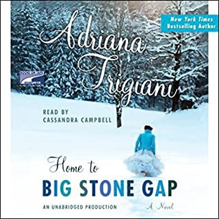 Home to Big Stone Gap     A Novel              By:                                                                                                                                 Adriana Trigiani                               Narrated by:                                                                                                                                 Cassandra Campbell                      Length: 9 hrs and 22 mins     197 ratings     Overall 4.1