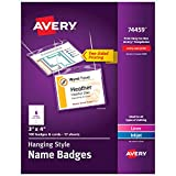 Avery Name Badges with Lanyards, Print or...