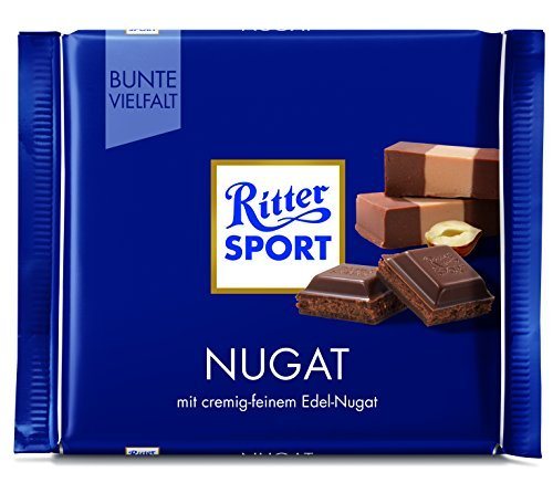 Ritter Sport Nougat-Pack of 3 by Yulo Toys Inc