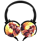 Headphones Lightweight with Mic Over Ear 3.5Mm Sport Fairy-Tails Stereo Headsets for Boys
