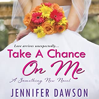 Take a Chance On Me audiobook cover art