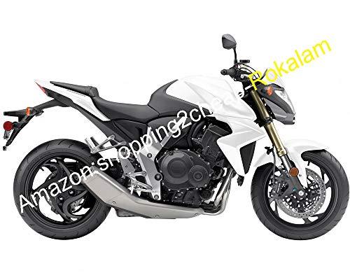 Pour carénage de moto CB1000R 08-15 CB1000 R 2008 2009 2010 2011 2012 2013 2014 2015 CB 1000R blanc et gris.