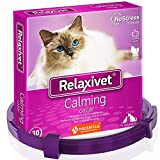 Relaxivet Calming Collar for Cats and Small Dogs - Reduce Anxiety Your Pets - The Best Replacement...