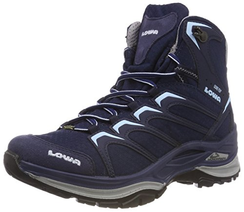 Lowa Damen Innox GTX MID WS Trekking- & Wanderstiefel, Blau (Navy/eisblau 6917), 37.5 EU