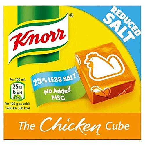 Knorr Pollo Ridotto Di Sale Dadi Da Brodo 6 X 9g