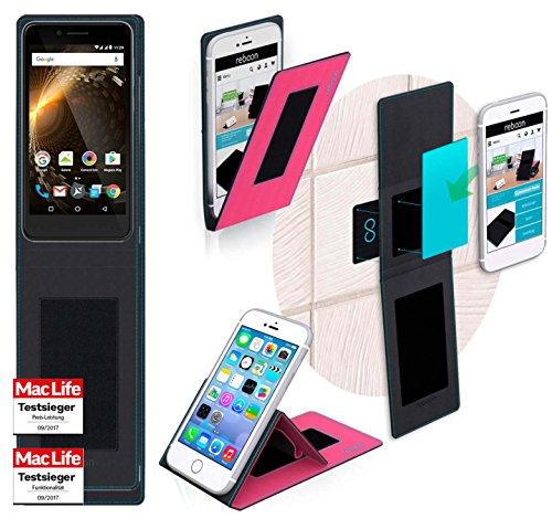 Hülle für Allview P6 Energy Mini Tasche Cover Hülle Bumper | Pink | Testsieger