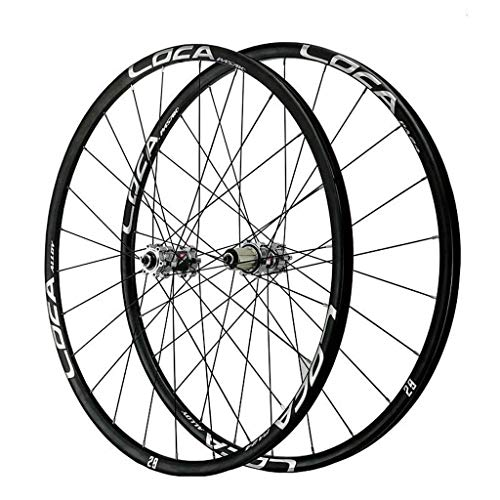 26 27.5 29 Inch Mountain Bike Wheelset MTB Front Rear Bicycle Rims Set Quick Release Red Black Hub Disc Brake Wheels For 8 9 10 11 12 Speeds