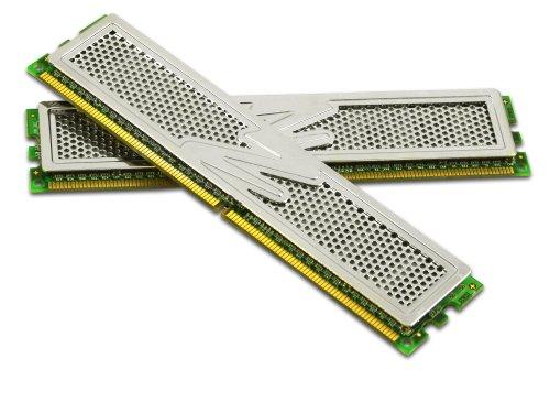 OCZ 2P10004GK Platinum DDR2 PC2-8000 Arbeitsspeicher 4GB Kit (2X 2GB, 1000MHz, 5-5-5-18, 2,1 Volt - R)
