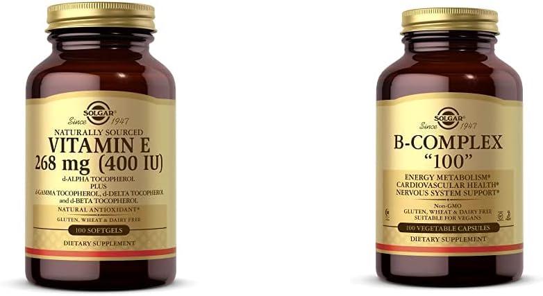 Solgar Vitamin E 268 MG 400 Tocopherol Mix Mixed excellence NEW before selling ☆ d-Alpha IU
