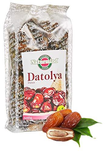 Naturmind Datteln ohne Stein | 500g | entkernt | glutenfrei, vegan | fruchtiger, süßer aromatischer Geschmack | getrocknet | im Müsli oder im Gebäck