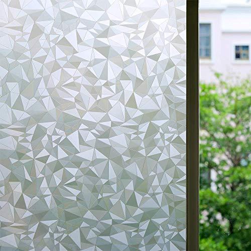LMKJ Window privacy self-adhesive film electrostatic stickers 3D window decals glass film window stickersHeat Control Anti UV A53 40x200cm