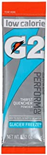 Gatorade 13160 G2Instant Powder Sticks, Glacier Freeze, 20 oz. (Pack of 64)