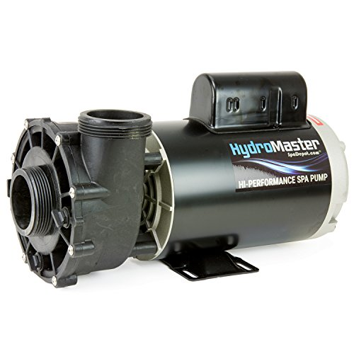 HydroMaster Two-Speed Side Discharge Hot Tub Pump – 56-Frame – 4 HP – 240V