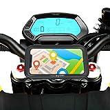 Soporte movil Moto Deportiva Compatible con Cualquier Tipo de Manillar Funda Impermeable Valida para Smartphones de hasta 7.2' de Pantalla Soporte móvil Moto Porta movil Moto